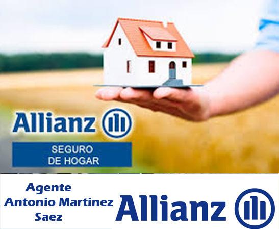 seguro hogar Allianz Murcia Antonio Martinez Saez