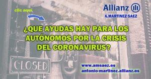 ayudas autónomos por el coronavirus
