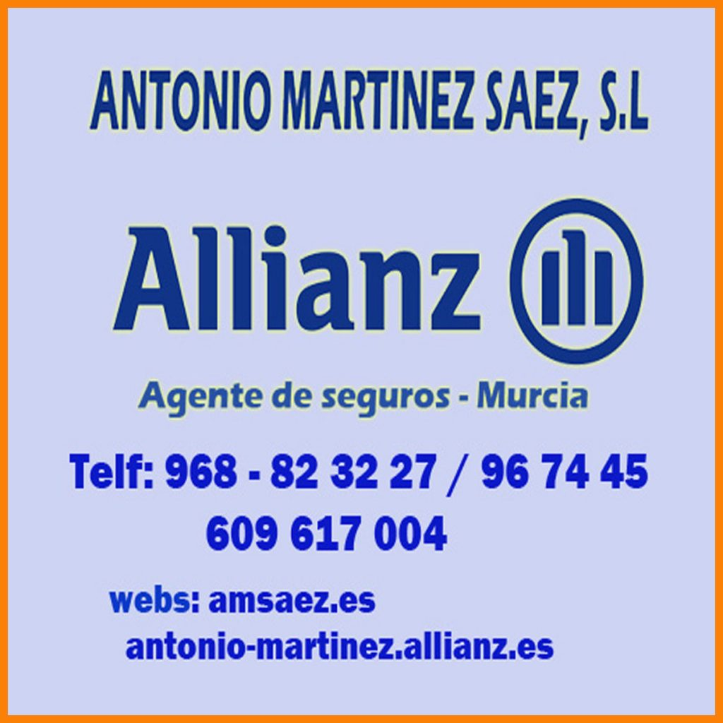 Antonio Martrinez Saez allianz murcia