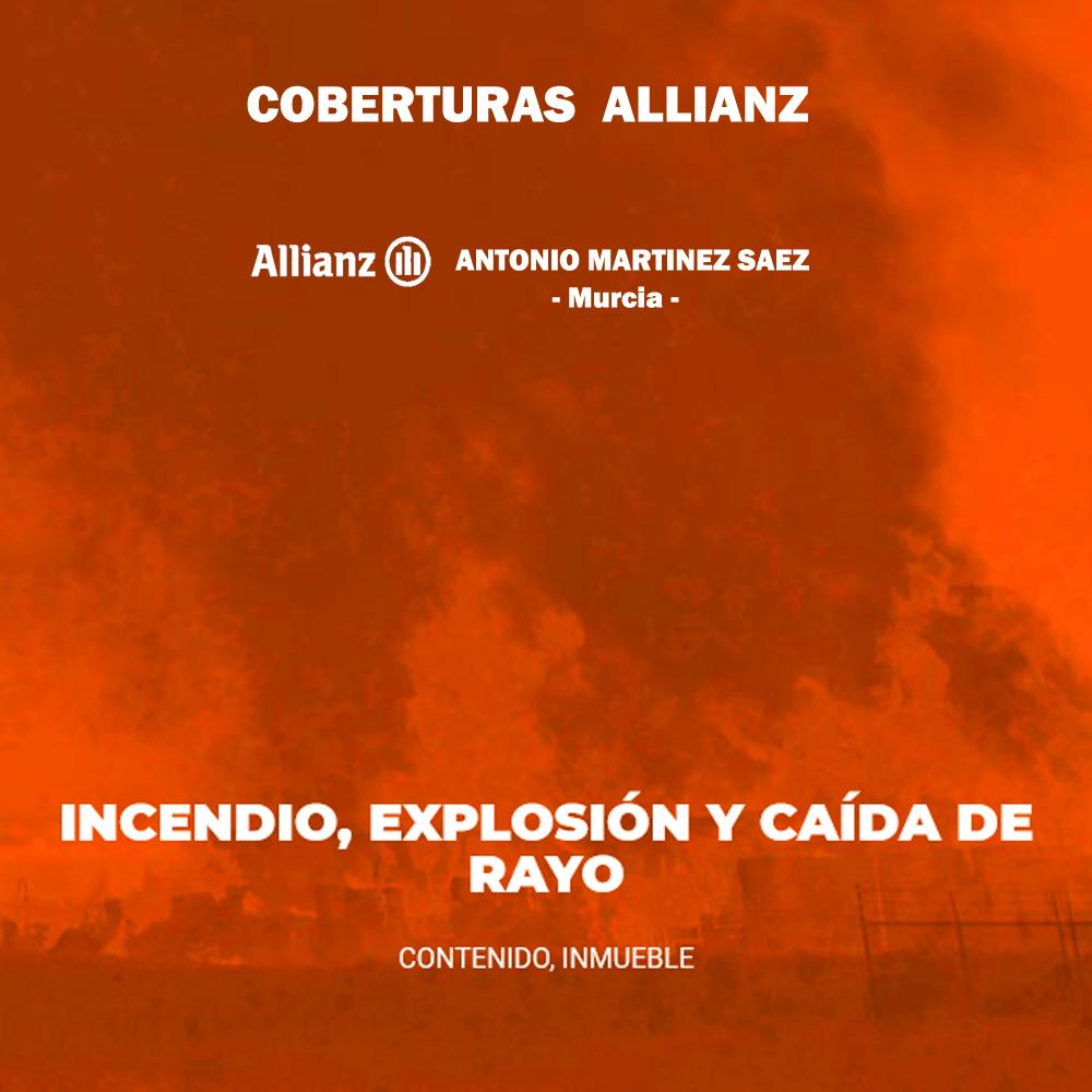 cobertura incendio allianz